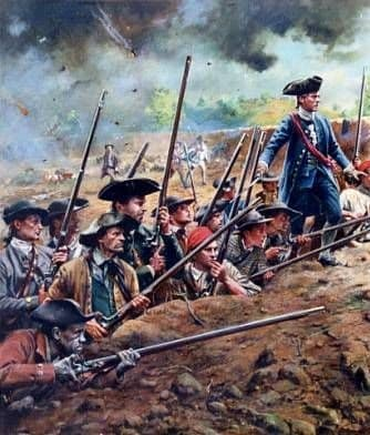 Rebels at the Battle of Yorktown