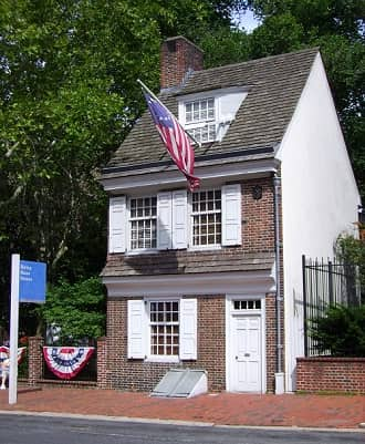 House where Betsy Ross House lived