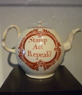 Stamp Act Repeald Pottery